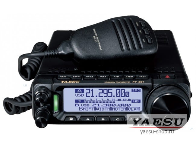 FT-891  в фирменном магазине Yaesu